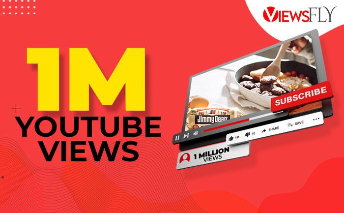 1 million youtube views, buy youtube views,